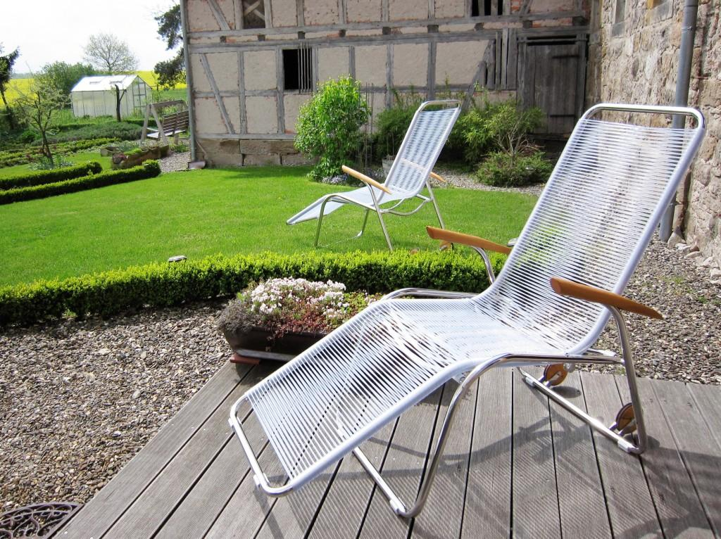 Deine Profi-Relaxliegen haben einen bequemen, hohen Einstieg und garantieren besondere Tiefenentspannung