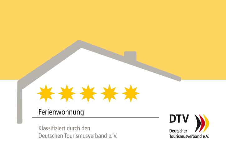Geprüft und klassifiziert durch den deutschen Tourismusverband