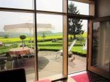 Dein unvergleichlicher Ausblick aus der Ferienwohnung Bauhaus Kö2 vom Sofa aus