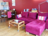 Das ist dein Kuschel-Lese-Kino-Sofa. Oder Dein einfach-ins-Grüne-guck-Sofa